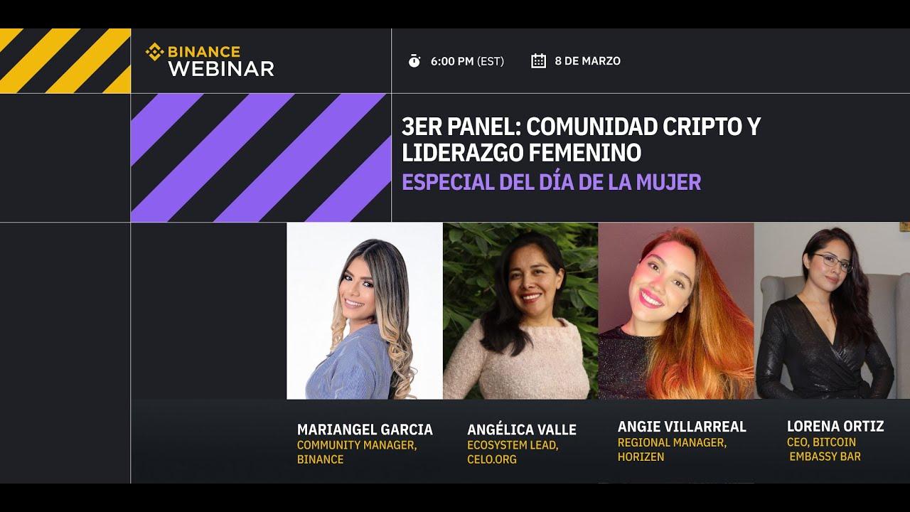 Especial día de la mujer | 3er panel: Comunidad cripto y liderazgo femenino