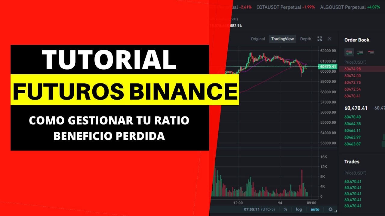 BINANCE TUTORIAL ESPAÑOL [Trading futuros criptomonedas] Como gestionar tu ratio beneficio / perdida