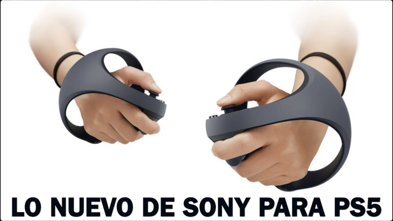 SONY PS5 VR SE VIENE CON NUEVO DISEÑO