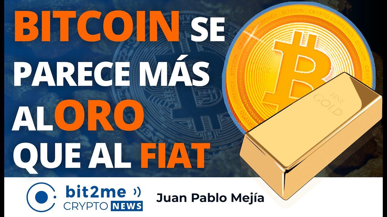 🔵 🥇 BITCOIN se PARECE Más al ORO que al FIAT según Presidente de la FED – Bit2Me Crypto News