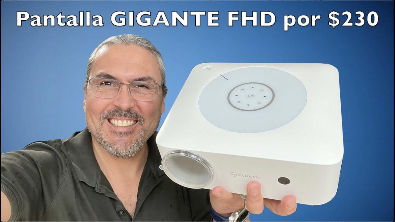 Pantalla GIGANTE por $230 Vankyo Leisure 530W proyector FHD nativo