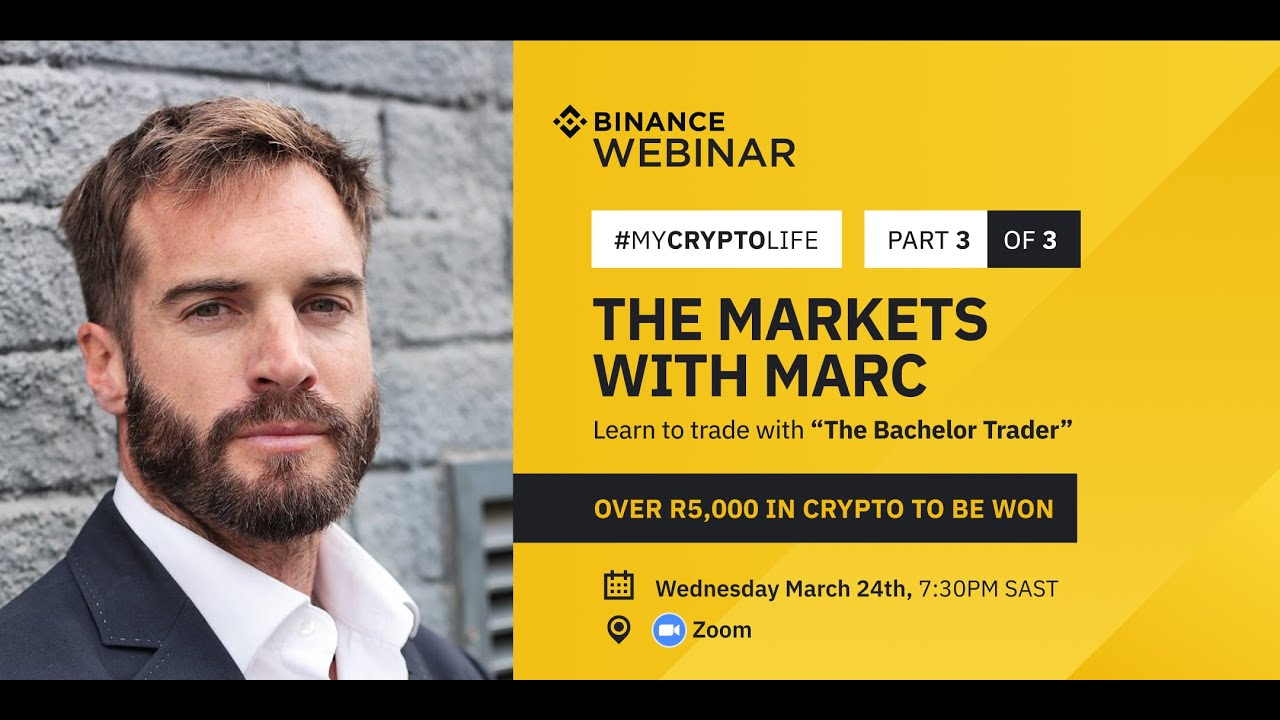 Market's with Marc, Webinar Series (South Africa)