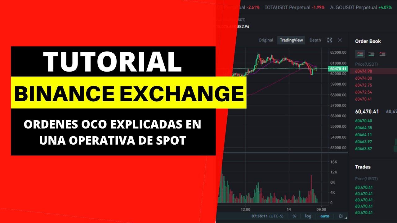 COMO USAR BINANCE TUTORIAL 2021 [Ordenes OCO explicacion trading en vivo] Semillero de ingresos 🔥🔥