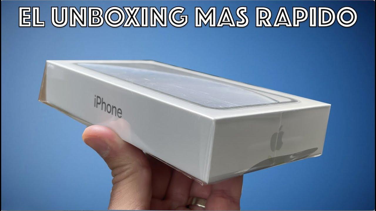 El UNBOXING MAS RAPIDO en TECNOFANATICO del iPhone XR