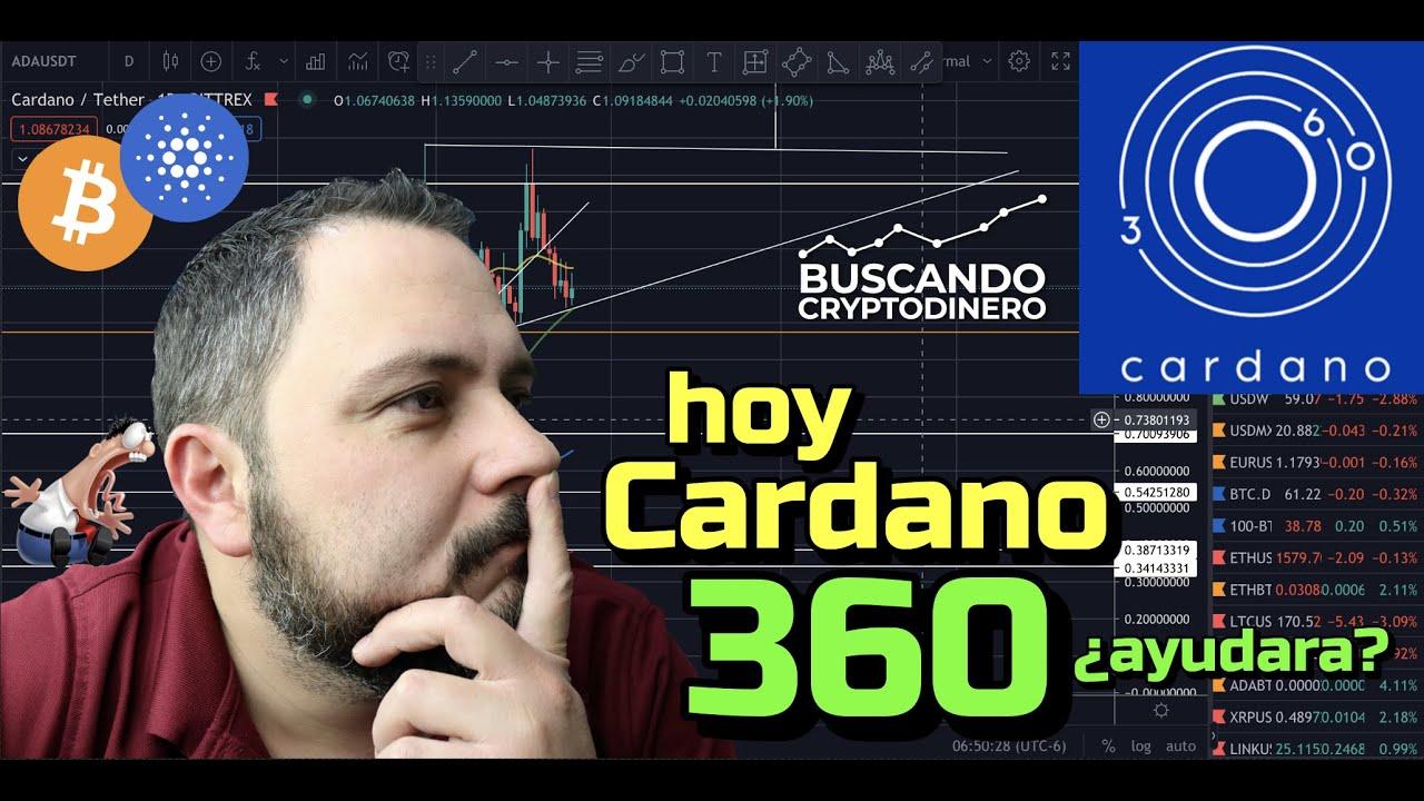 🔵 Cardano 360  ➤  Ayudara el precio?? + 21 Monedas y Rifa !!!