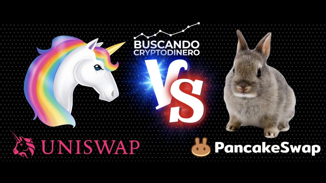 🦄 Uniswap vs 🥞PancakeSwap 🥊 Lucha de titanes !!! (#UNI vs #CAKE)