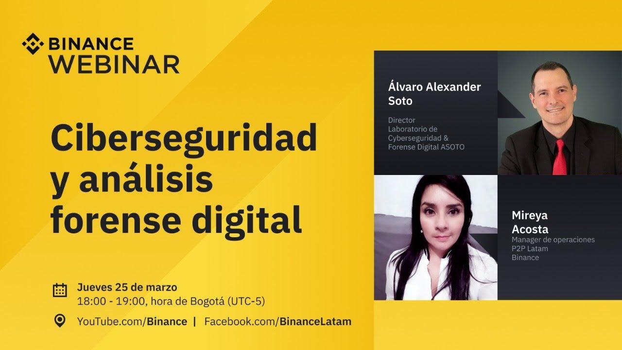 Ciberseguridad y análisis forense digital – Binance en español