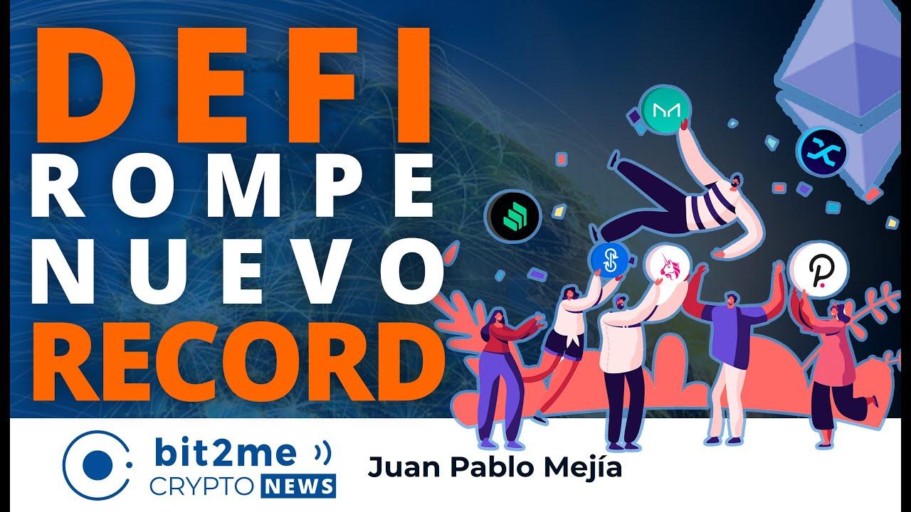 🔵 🎉 DEFI rompe nuevo RECORD – Bit2Me Crypto News