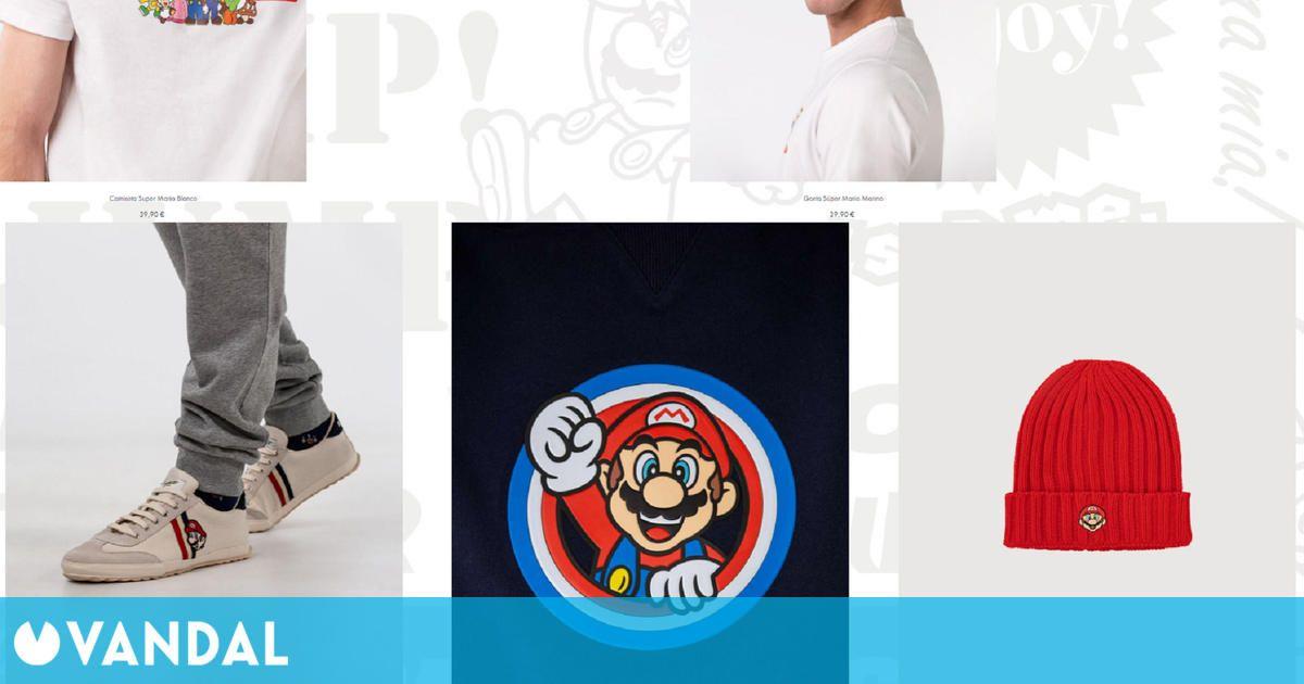 La marca española El Ganso lanza su colección del 35 aniversario de Super Mario