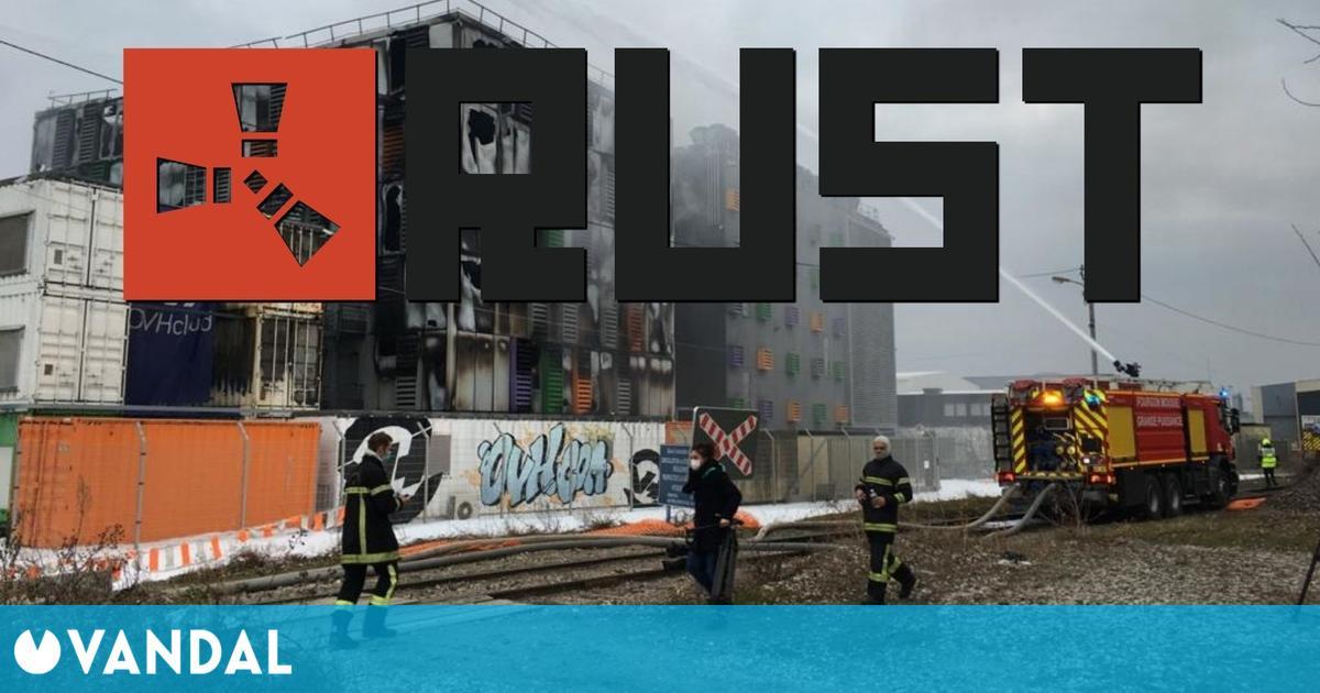 Rust: Los datos de algunos servidores europeos perdidos para siempre por un incendio