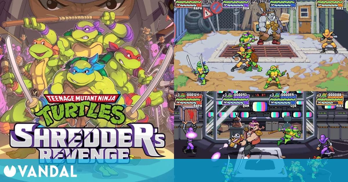 Teenage Mutant Ninja Turtle: Shredder's Revenge, vuelve el beat 'em up a PC y consolas