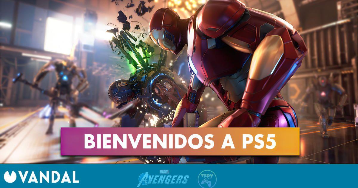 TTDV: Disponible la reserva de Marvel's Avengers en PS5