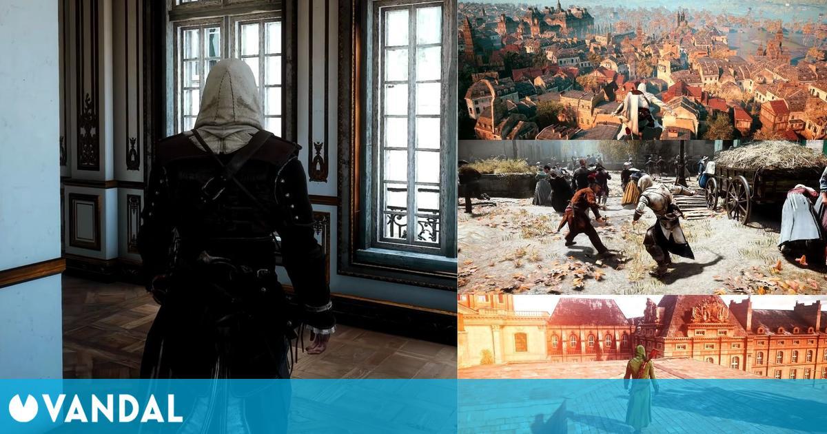Assassin's Creed Unity luce como un juego next-gen gracias este mod que añade ray tracing