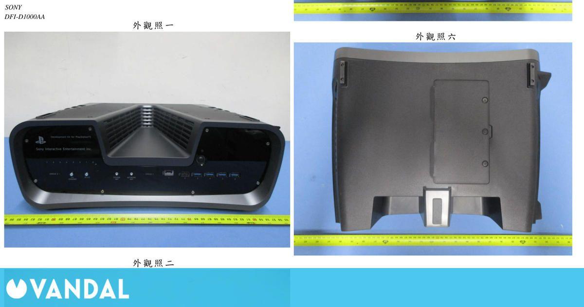 El kit de desarrollo de PS5 se muestra desde todos los ángulos en estas imágenes
