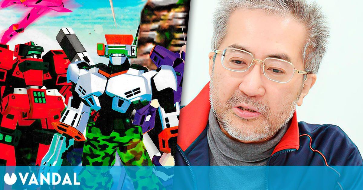 Juro Watari, creador de Cyber Troopers Virtual-On, anuncia su marcha de sega