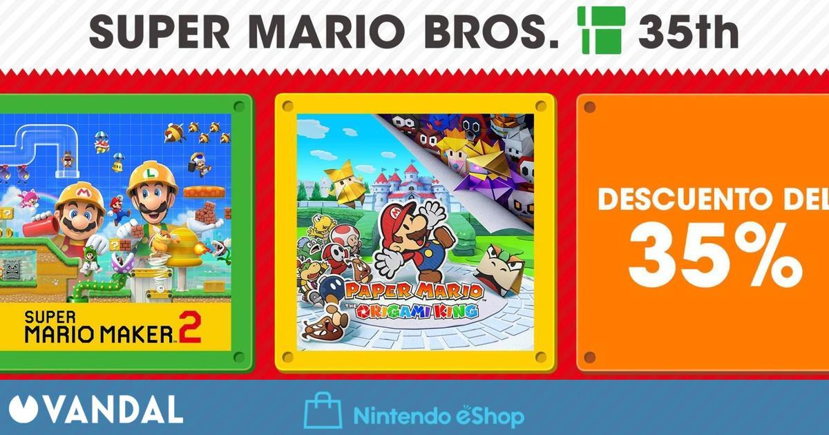 Ofertas Nintendo Switch: Super Mario Maker 2, Paper Mario y juegos de Square Enix