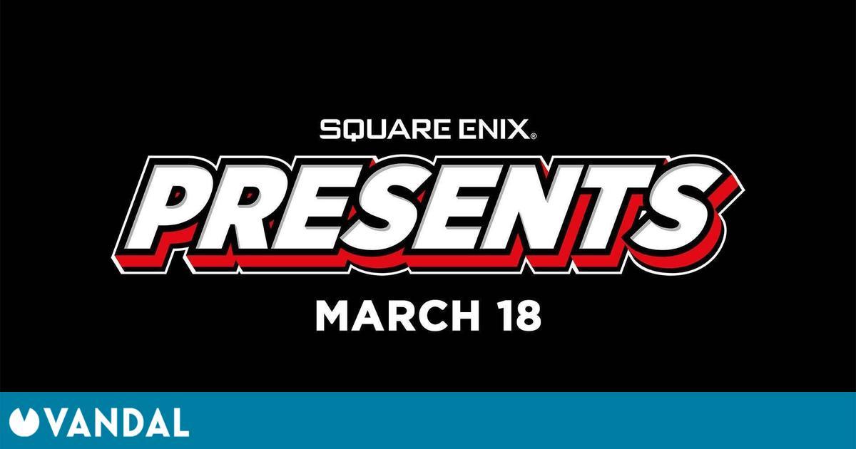 Square Enix Presents, un evento digital con novedades que se celebrará el 18 de marzo