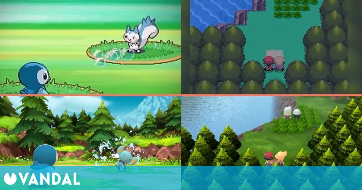 Pokémon Diamante Brillante y Perla Reluciente: Comparativa remake de Switch vs Nintendo DS