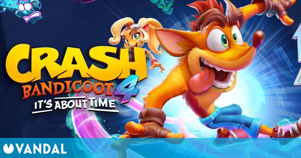 Crash Bandicoot 4: It's About Time se lanzará en PC el 26 de marzo