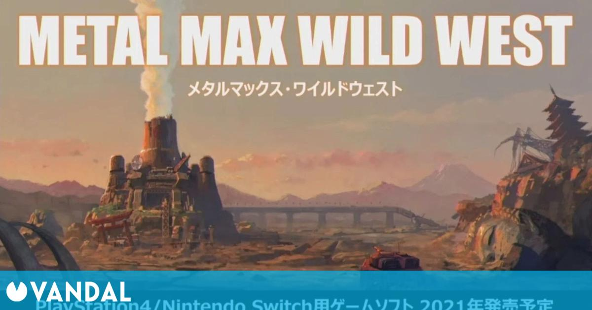 Kadokawa Games anuncia Metal Max: Wild West, Metal Dogs y Project Wolf