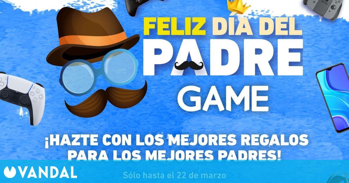 Ofertas por el Día del Padre en GAME: Packs de consolas, juegos, periféricos y más