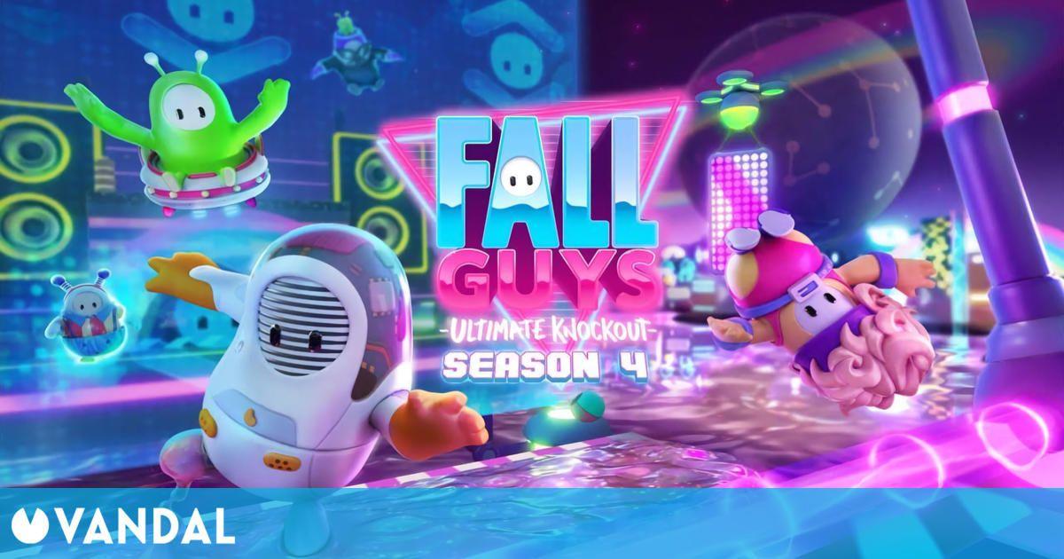 La cuarta temporada de Fall Guys: Ultimate Knockout arrancará el 22 de marzo