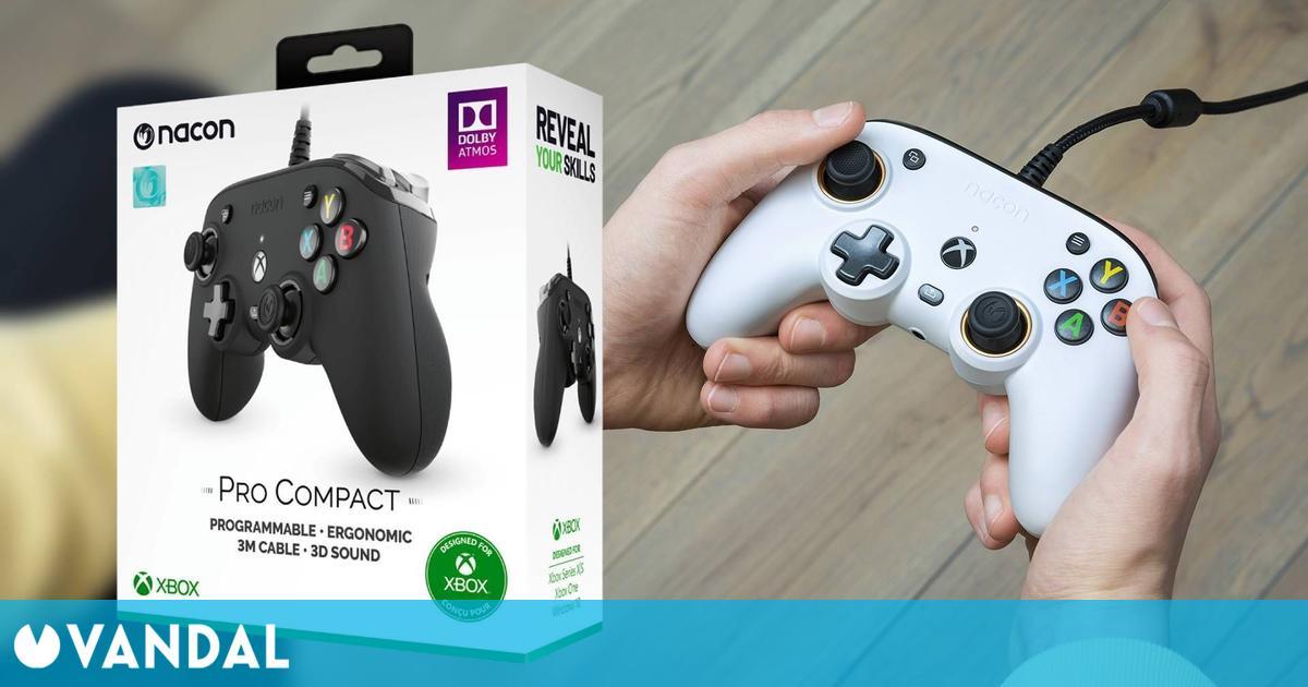 El mando Pro Compact de Nacon, diseñado para Xbox, ya está a la venta en España
