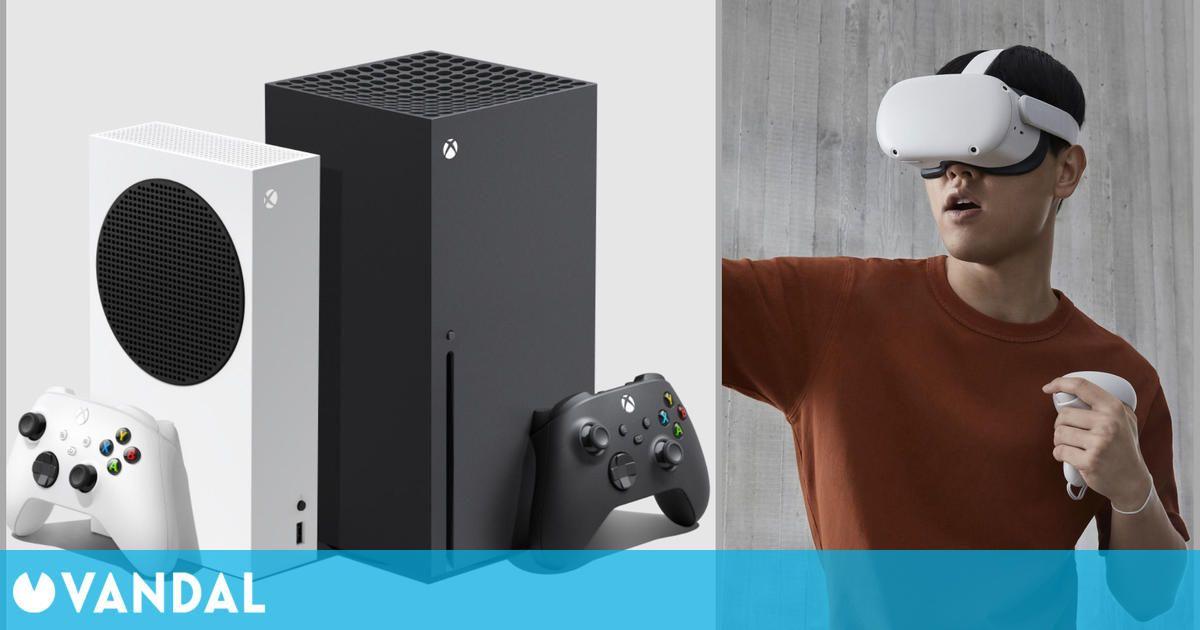 El sistema operativo de Xbox Series X/S hace referencia a la realidad virtual