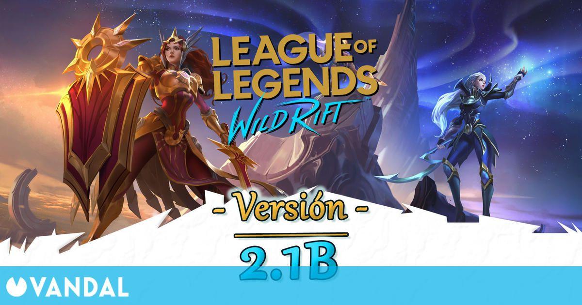 LoL Wild Rift v2.1b: Leona, Diana y Pantheon se unen al juego y otros cambios