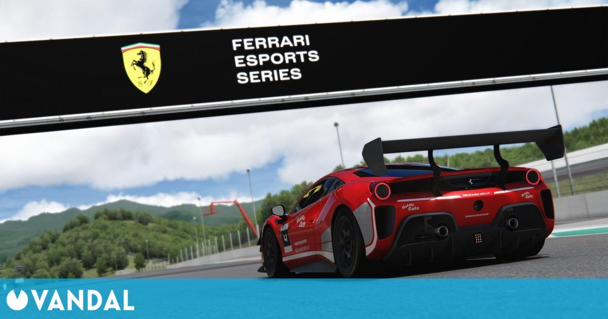Ferrari presenta su nueva temporada de deportes electrónicos con Ferrari Esports Series