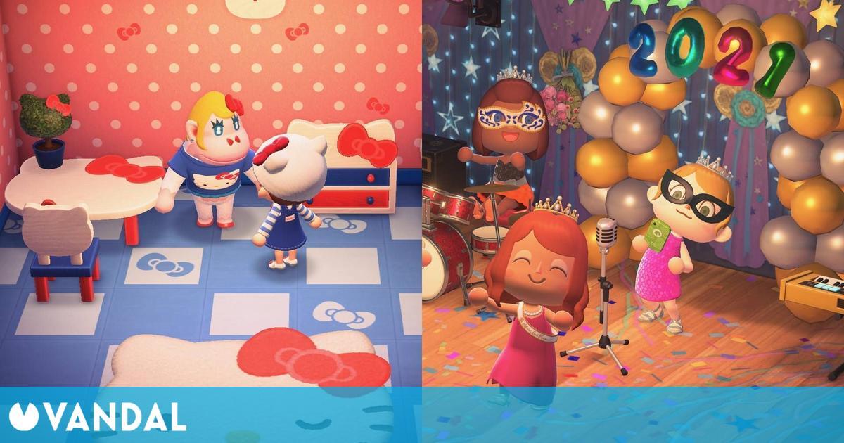 Animal Crossing: New Horizons se actualiza con nuevos vecinos, objetos, mejoras y más