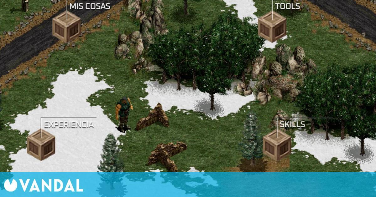 Commandos se convierte en un original currículum interactivo