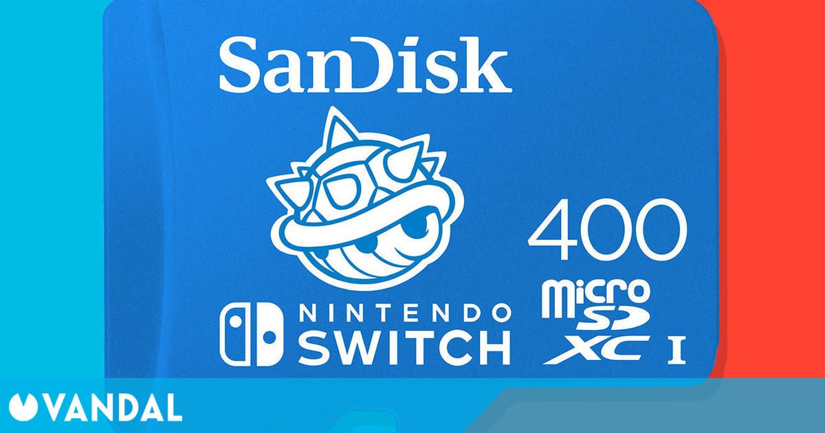 Las tarjetas de memoria de 400 GB para Nintendo Switch llegarán antes a España con GAME