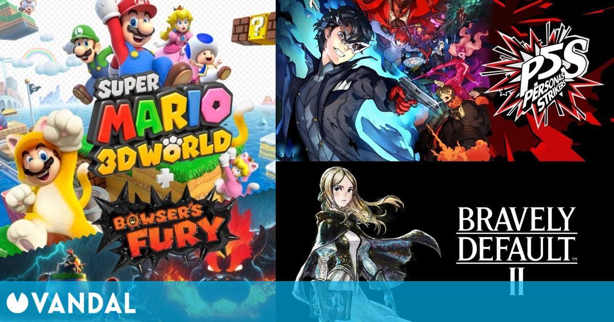 Super Mario 3D World volvió a ser el juego más vendido en España en su tercera semana