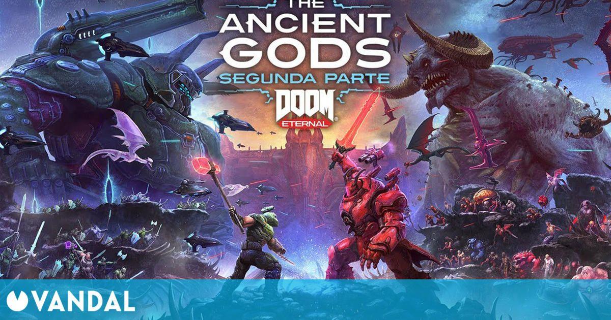 La segunda parte de Doom Eternal: The Ancient Gods llega el 18 de marzo y estrena tráiler