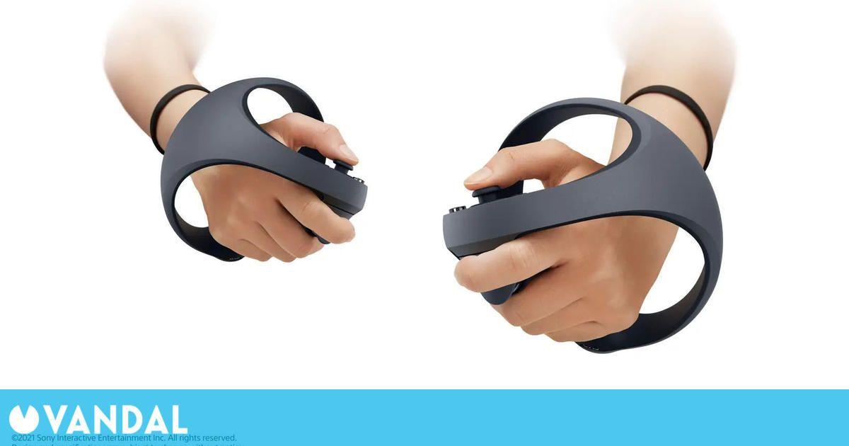 Así son los nuevos mandos de la realidad virtual de PS5