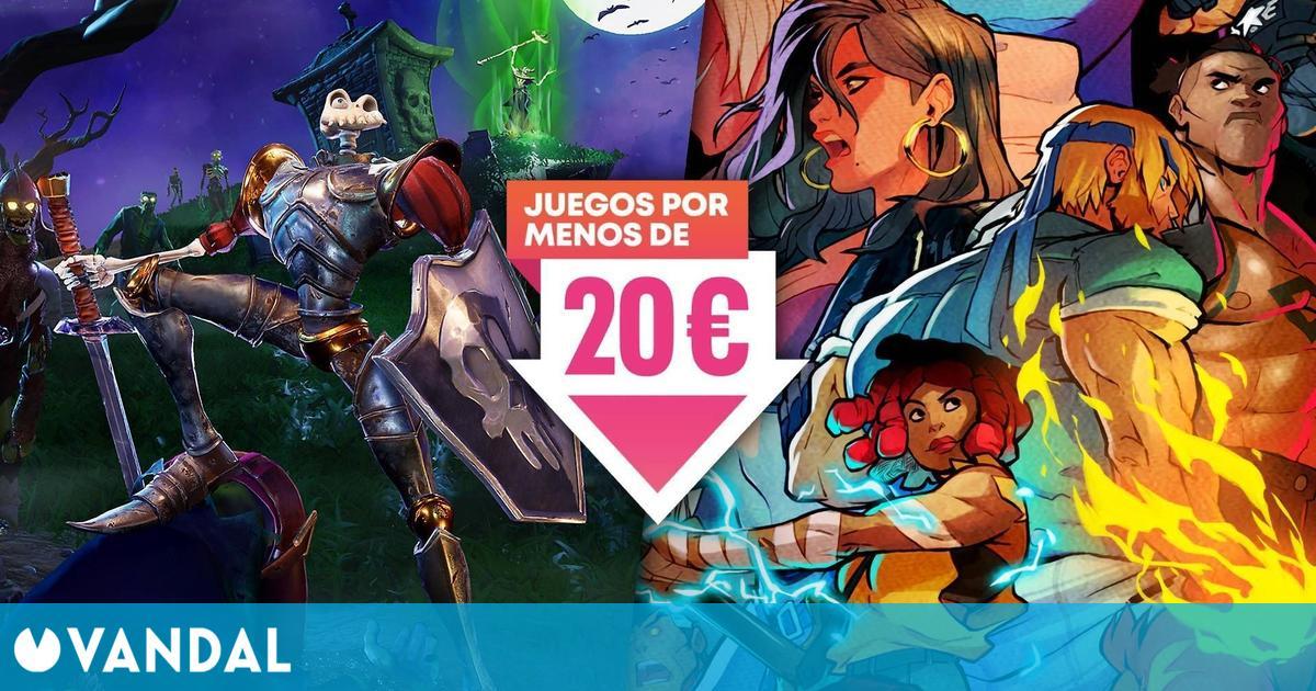 MediEvil, The Last Guardian, Streets of Rage 4 y otros juegos de PS4 por menos de 20 euros