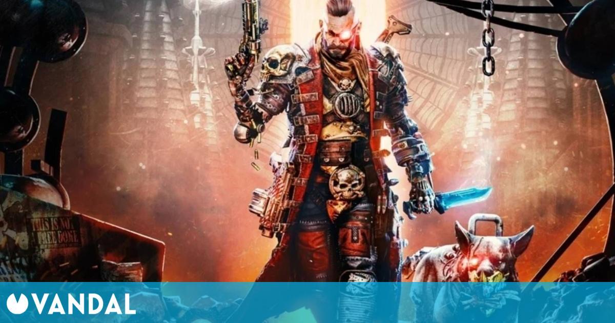 Anunciado Necromunda: Hired Gun, un brutal shooter ambientado en el universo Warhammer 40.000