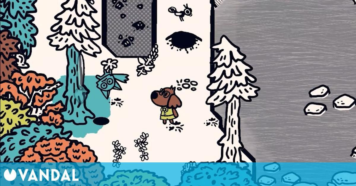 Chicory: A Colorful Tale nos trae su cuento de color esta primavera en PC, PS4 y PS5