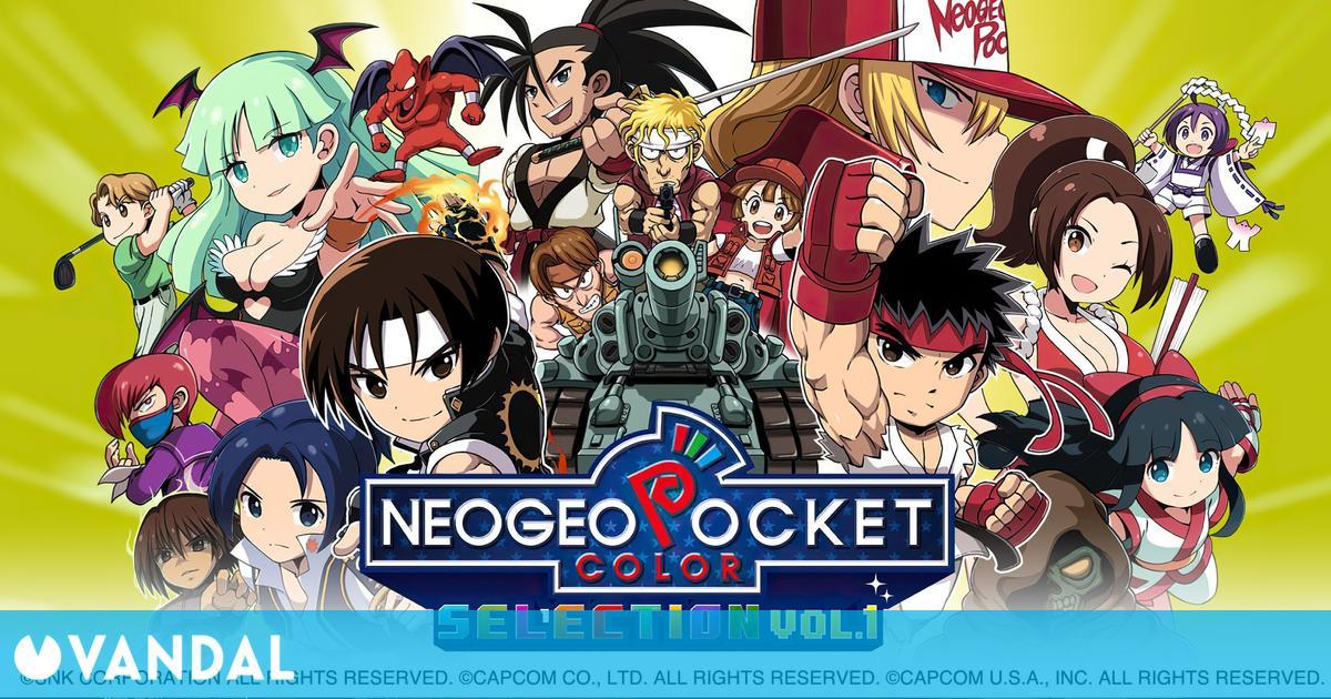 Ya disponible NeoGeo Pocket Color Selection Vol. 1 en Nintendo Switch