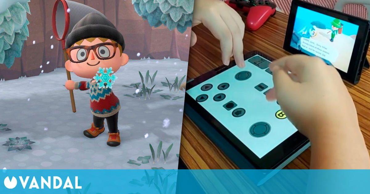 Un jugador con parálisis consigue jugar a Animal Crossing gracias a una aplicación