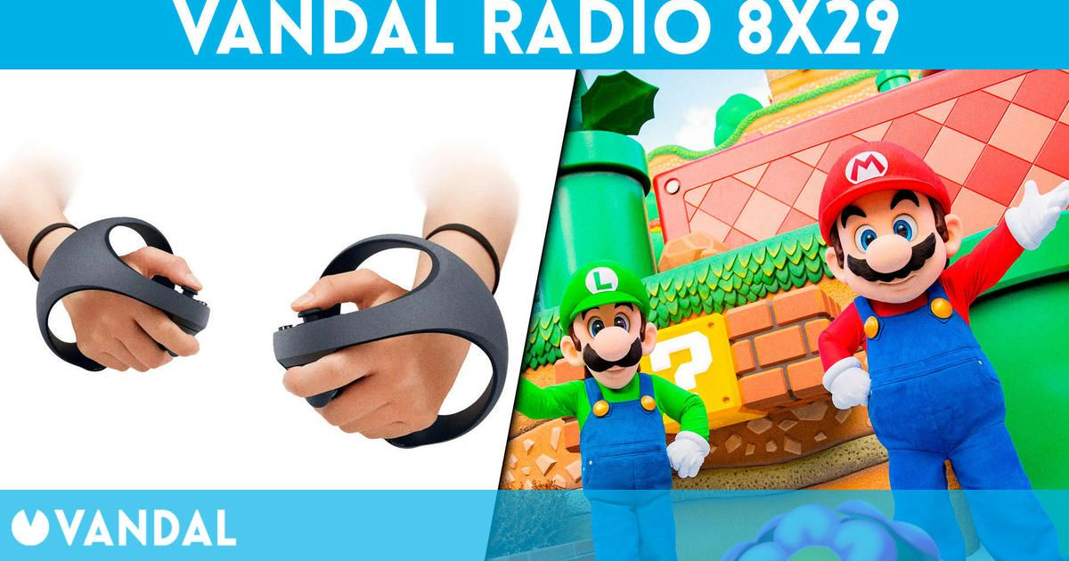 Vandal Radio 8×29 – Nuevos mandos VR PS5, Super Nintendo World y Gamescom 2021