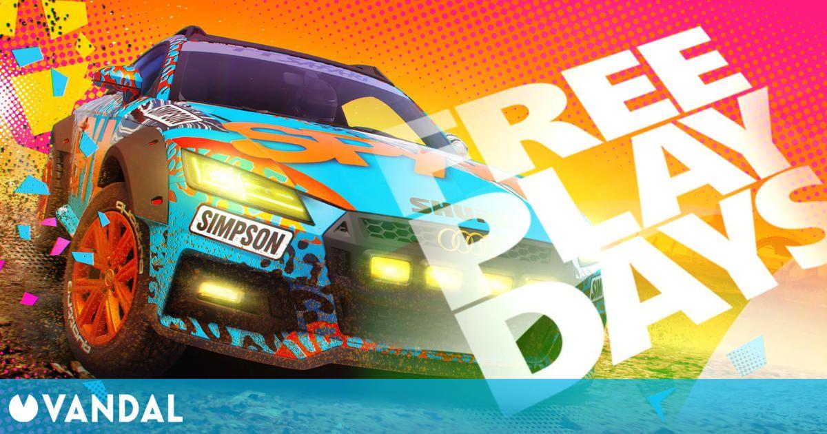 DiRT 5 estará disponible gratis para los suscriptores de Xbox Live Gold este fin de semana