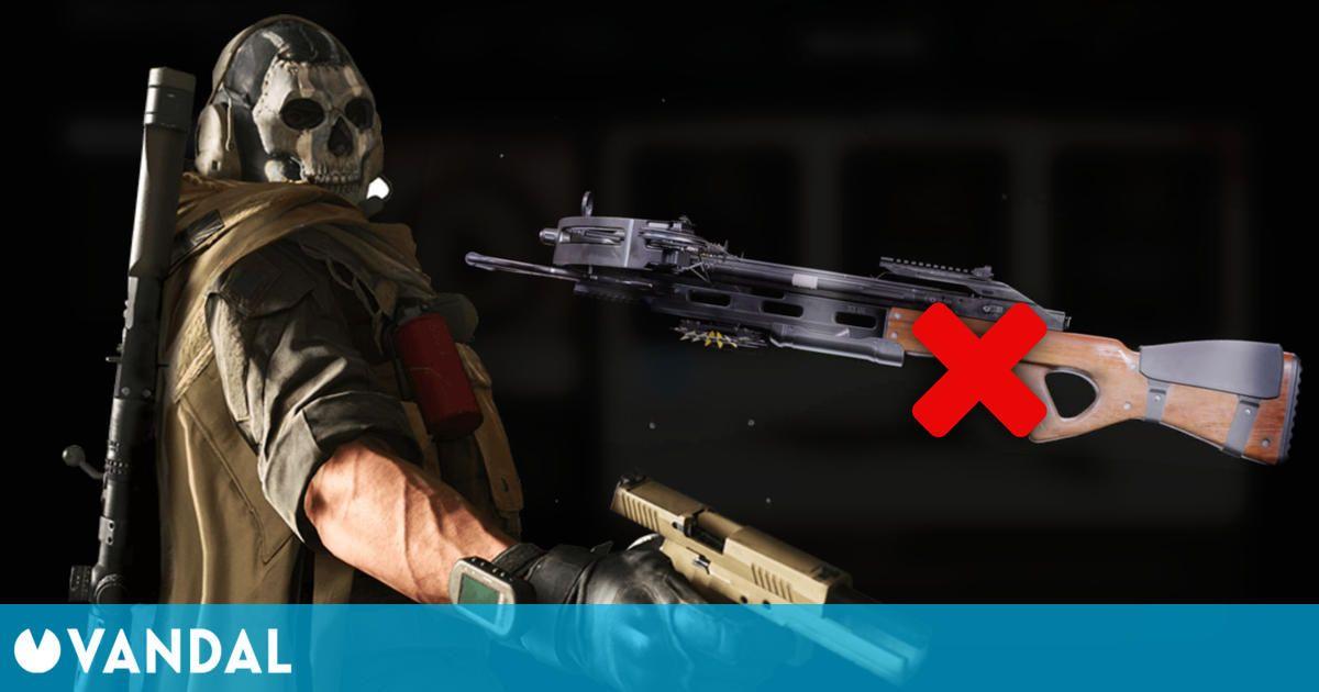 Enfado en la comunidad de Call of Duty por la retirada de un arma que se publicó por error