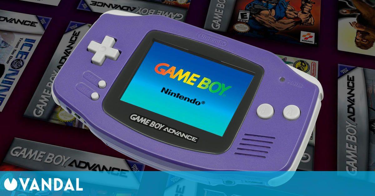 Game Boy Advance cumple hoy 20 años