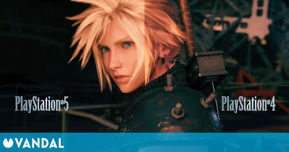 Final Fantasy 7 Remake Intergrade muestra en vídeo extendido sus mejoras gráficas en PS5