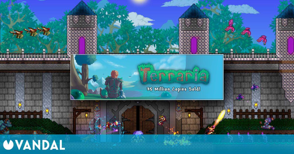 Terraria supera los 35 millones de copias vendidas y promete más actualizaciones