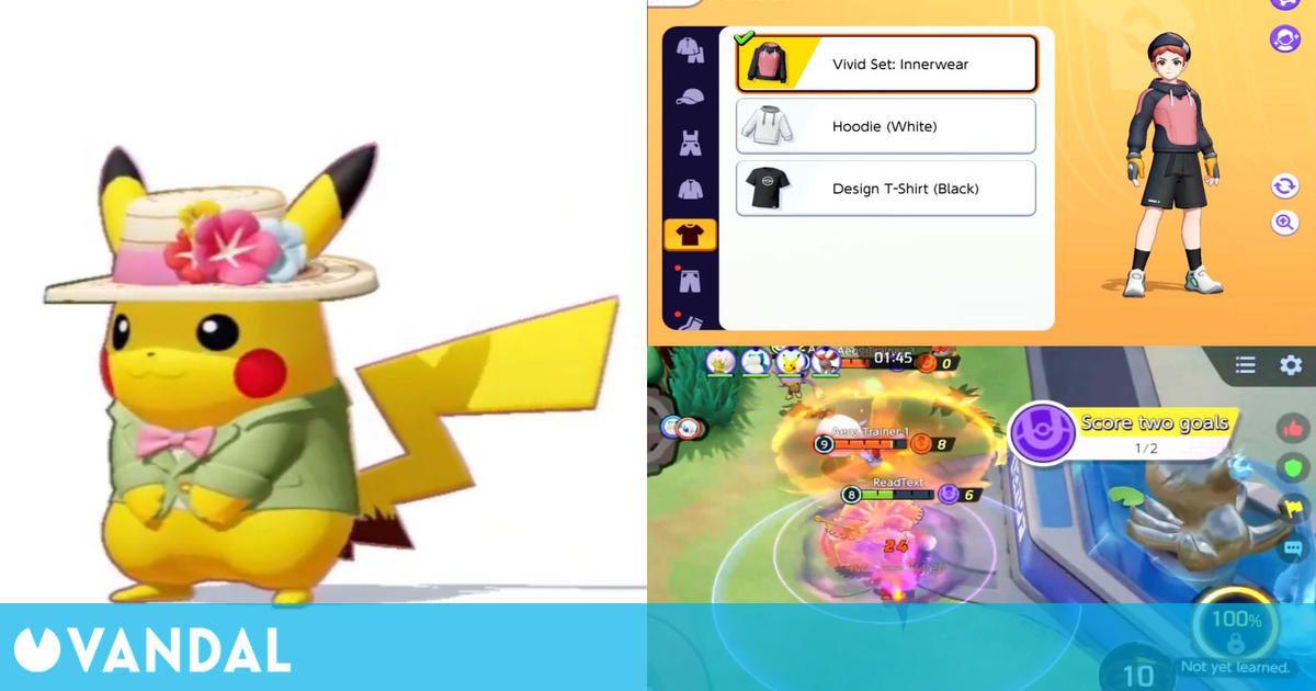 Pokémon Unite: El MOBA de Switch y móviles estrena beta y muestra gameplay