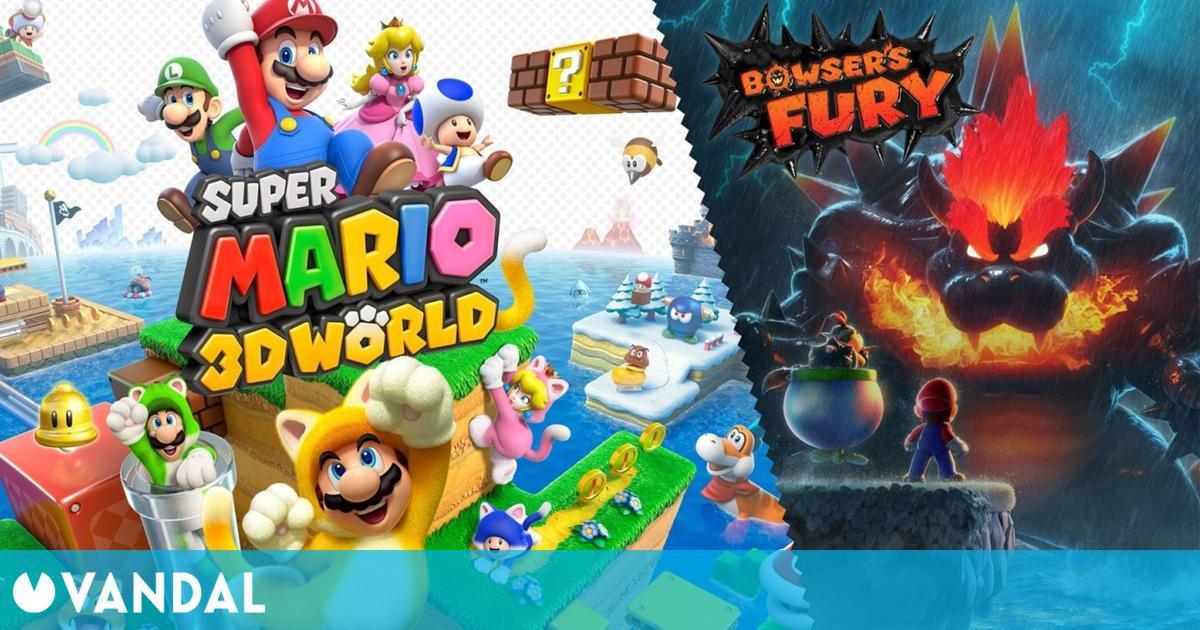 Super Mario 3D World fue el juego más vendido en España por cuarta semana consecutiva