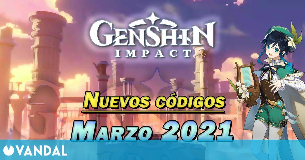 Genshin Impact: Nuevos códigos para conseguir Protogemas gratis en marzo 2021